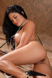 Jayd Lovely Tiny Sling Black Thong 03