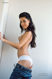 Nella Strips Off Her Jeans And Flashes Her Sweet Pussy 04