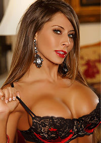 Madison Ivy Stips And Plays Herself On The Couch