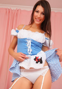 Sabrina C As A Sexy Maid