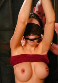 Blindfold Bondage And Fuck
