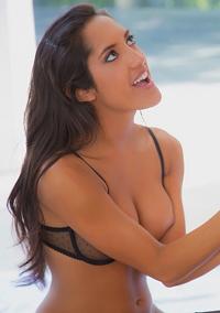 Sexy Latina Sucking Cock