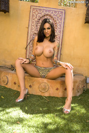 Angelina Valentine Spreads Pussy Outdoors 07