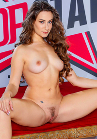 Pretty Brunette Cassidy Klein Shows Her Sexy Naked Body