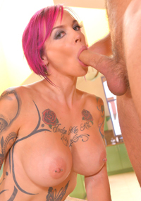 Anna Bell Peaks Fucked Between Her Large Tits